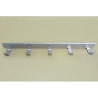 Крючки боковые на проволочный кронштейн 40 см VS42 (5 крючков) (платиновый)