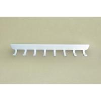 Крючки боковые на проволочный кронштейн 30 см VS32 (8 крючков) (белый)