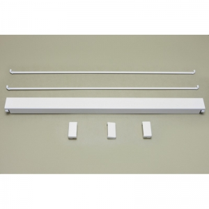 Комплект стабилизации (верх-низ) 607 мм (белый)