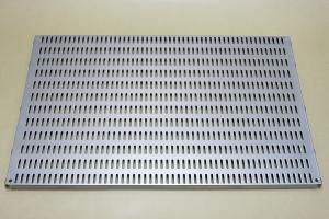 Перфорированная панель 60 х 38 см (платинум)