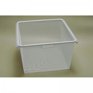 Рамка + корзина на 3 рельса шир. 45*44 см (белый)