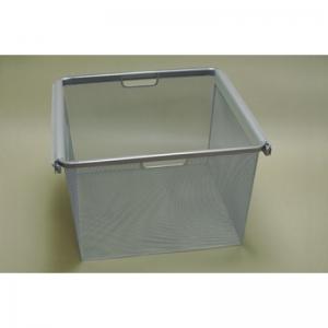 Рамка + корзина на 3 рельса шир. 45*44 см (платиновый)