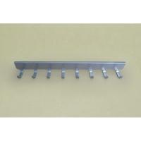 Крючки боковые на проволочный кронштейн 30 см VS32 (8 крючков) (платиновый)