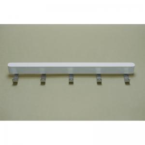 Крючки боковые decor на проволочную полку гл 40 см, белый