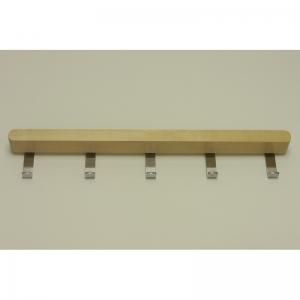 Крючки боковые decor на проволочную полку гл 40 см, береза
