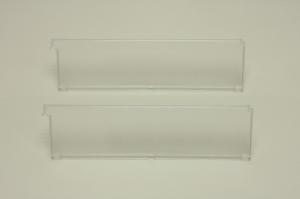 Разделитель полки-корзины (2 шт) прозрачный 30 см