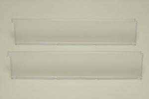 Разделитель полки-корзины (2 шт) прозрачный 40 см