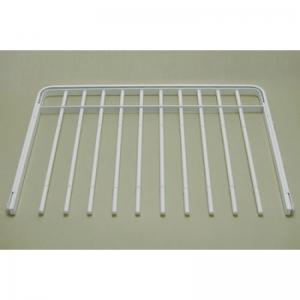 Выдвижная металлическая вешалка для брюк 60*44 (белая)