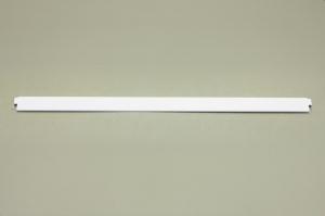 Задняя ограничительная панель для полки 607 мм (белый)