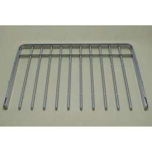 Выдвижная металлическая вешалка для брюк 60*44 (платиновая)